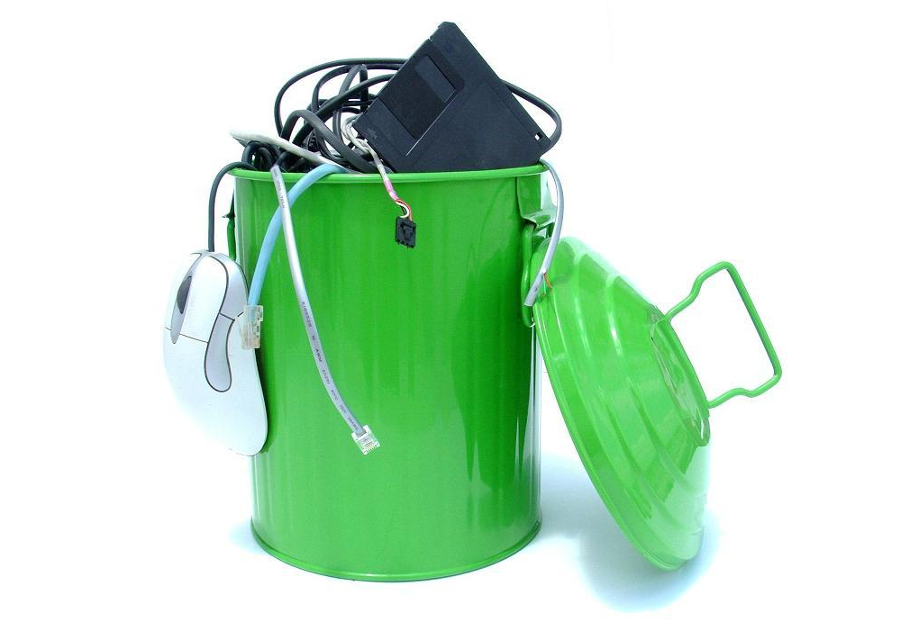 electronic waste is recycled