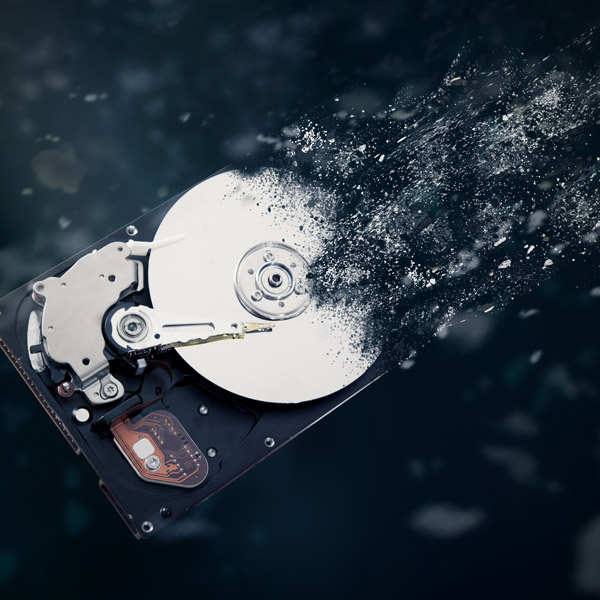 Secure Erasing Data from Hard Drive