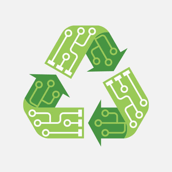 Electronic and IT waste recycling