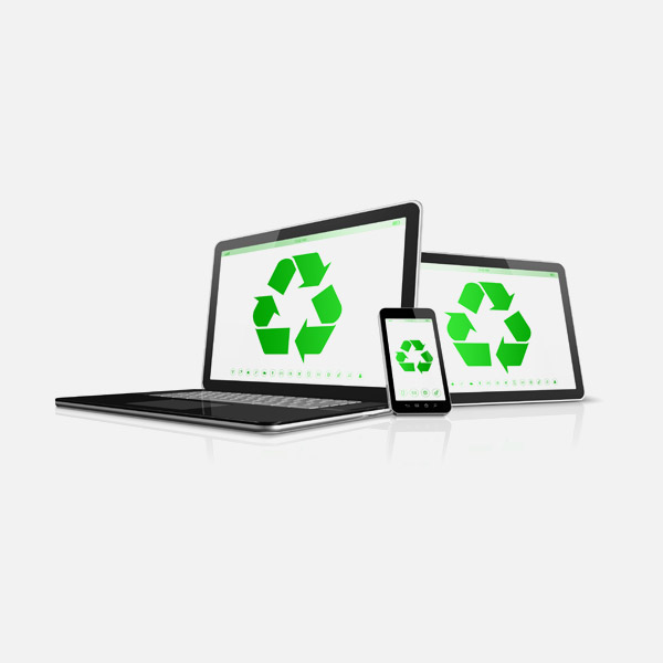 Environmentally safe laptop disposal and recycling