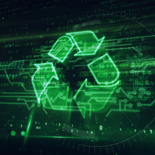Safe and healthy residential computer recycling